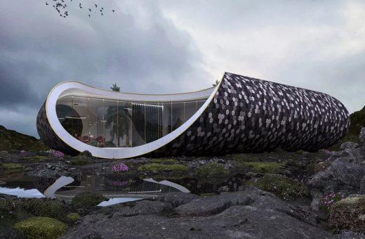 Seashell house, la casa a forma di conchiglia