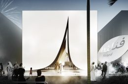 Snow Cape, the Expo 2020 sustainable pavilion