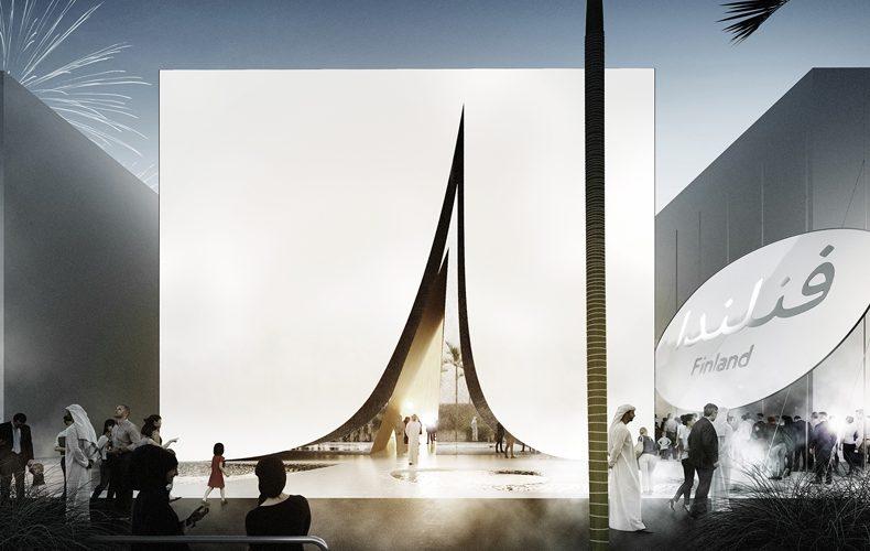 Snow Cape, il padiglione sostenibile di Expo 2020