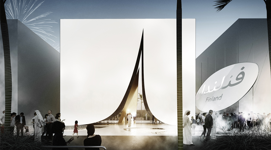 Snow Cape, the Expo 2020 sustainable pavilion | Collater.al