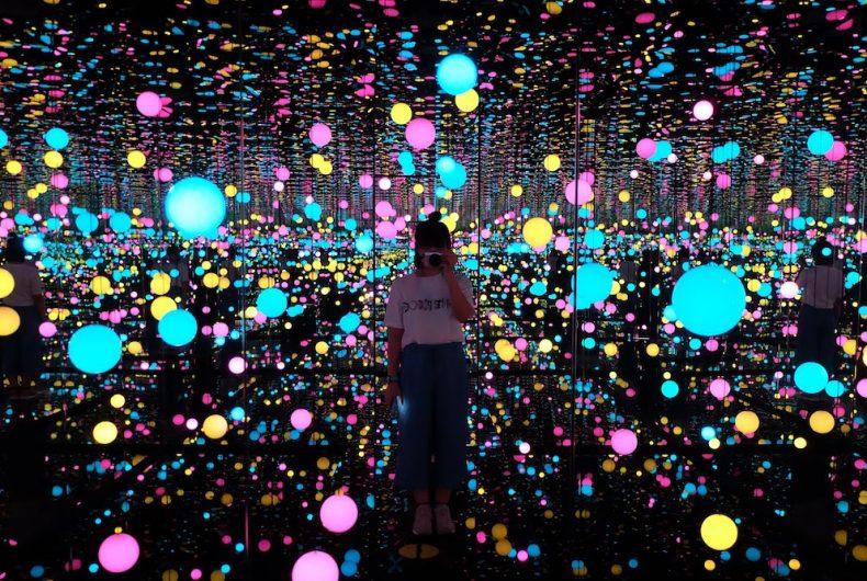 Yayoi Kusama's Infinity Room at the Tate Modern