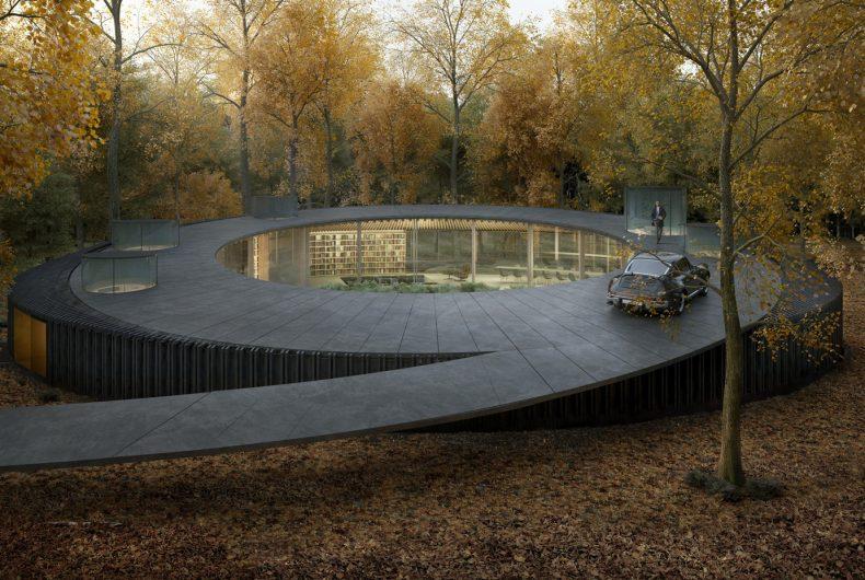Woodhouse 2.0, la casa che si fonde con la foresta