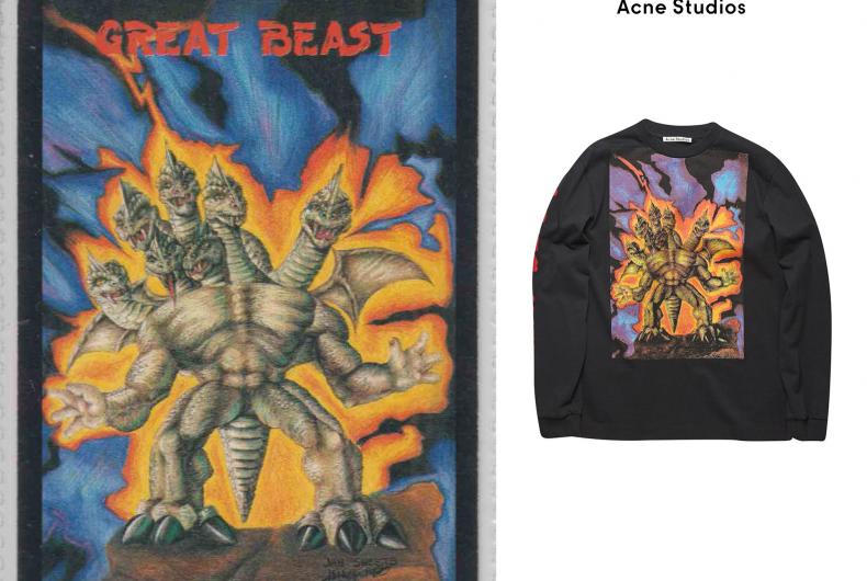 Acne Studios celebrates monsters