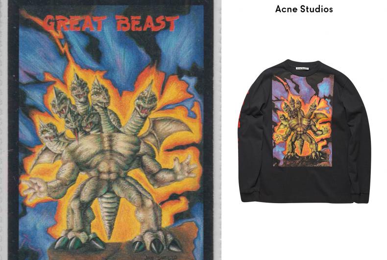 Acne Studios celebra i mostri