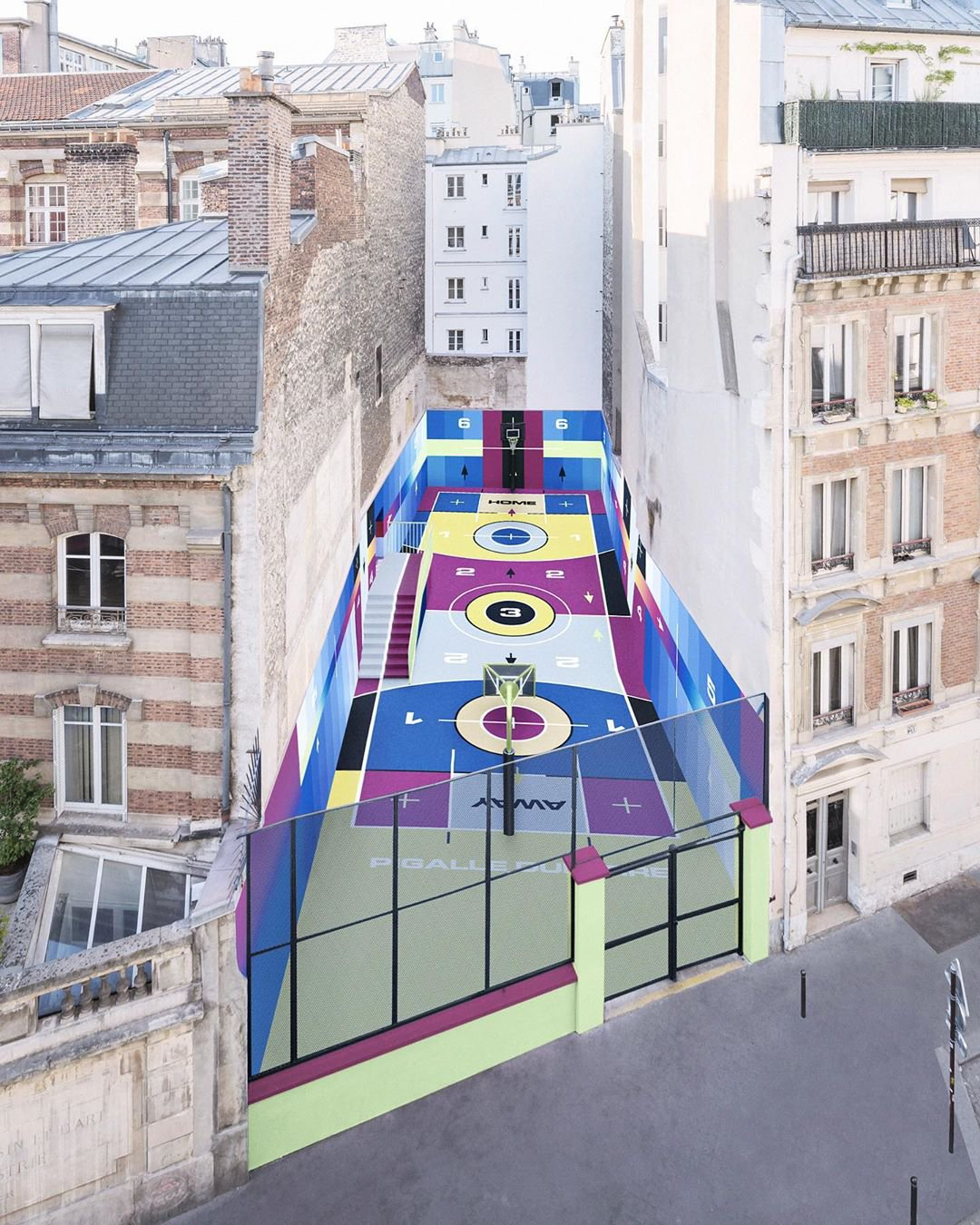 The history evolution of the Pigalle Duperré Court | Collater.al