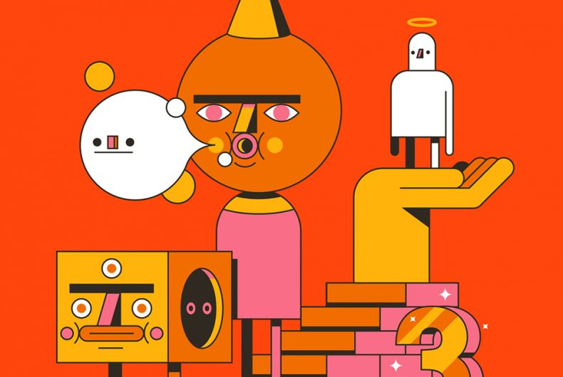 The colorful and surreal illustrations by Jorsh Peña