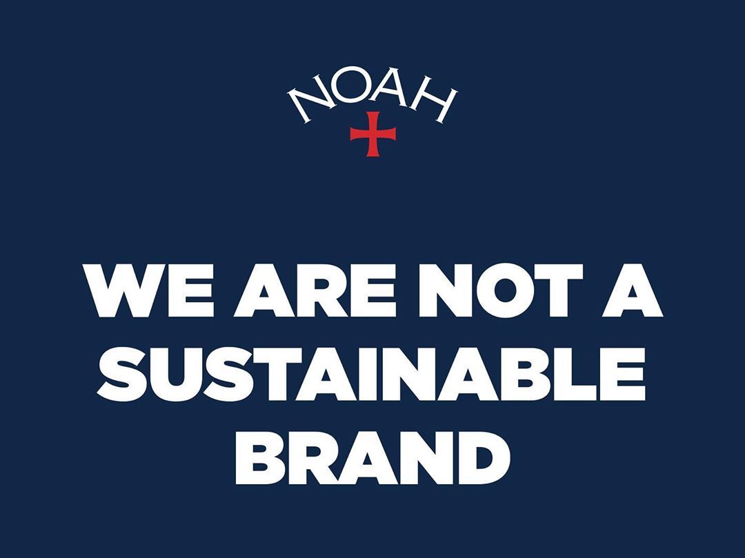 Noah: the utopia of sustainability in fashion