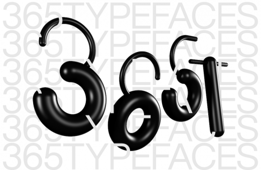 365typefaces, one typeface per day