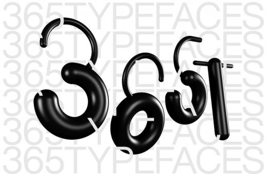 365typefaces, un carattere tipografico al giorno