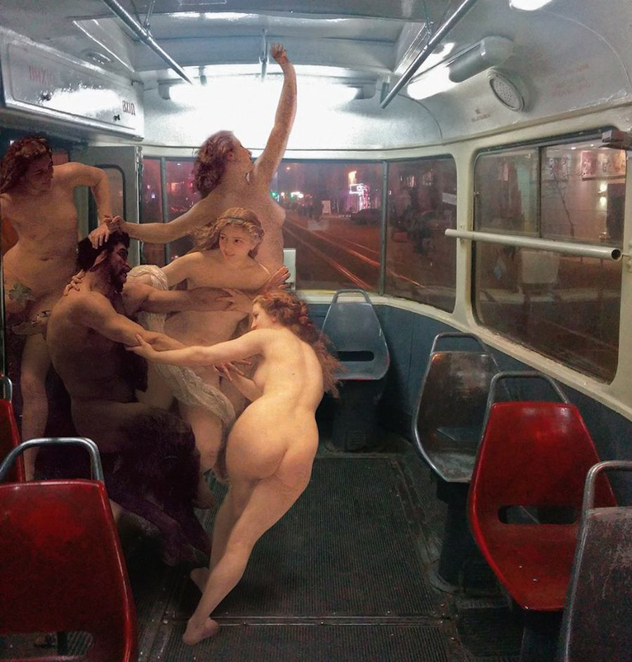 Gli artwork di Alexey Kondakov tra opere classiche e fotografia | Collater.al