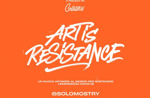 Art is Resistance, art can help us to fight against Covid-19