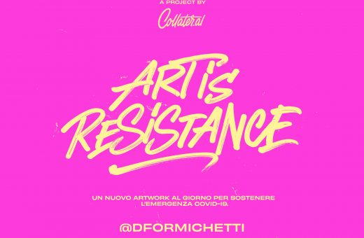 Art is Resistance – Domenico Formichetti
