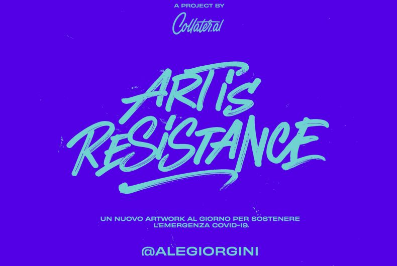Art is Resistance – L'illustratore Ale Giorgini