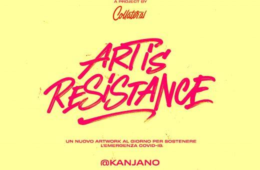 Art is Resistance – L'illustratore Kanjano