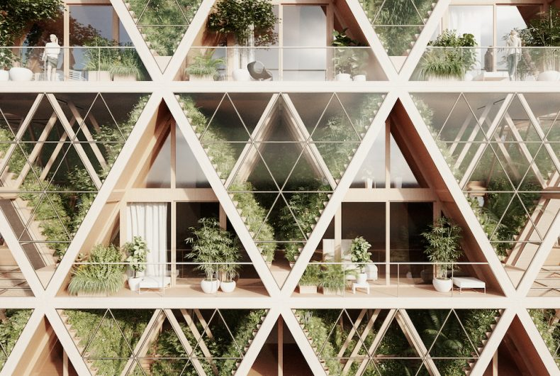 Farmhouse, self-sufficient and ecological homes