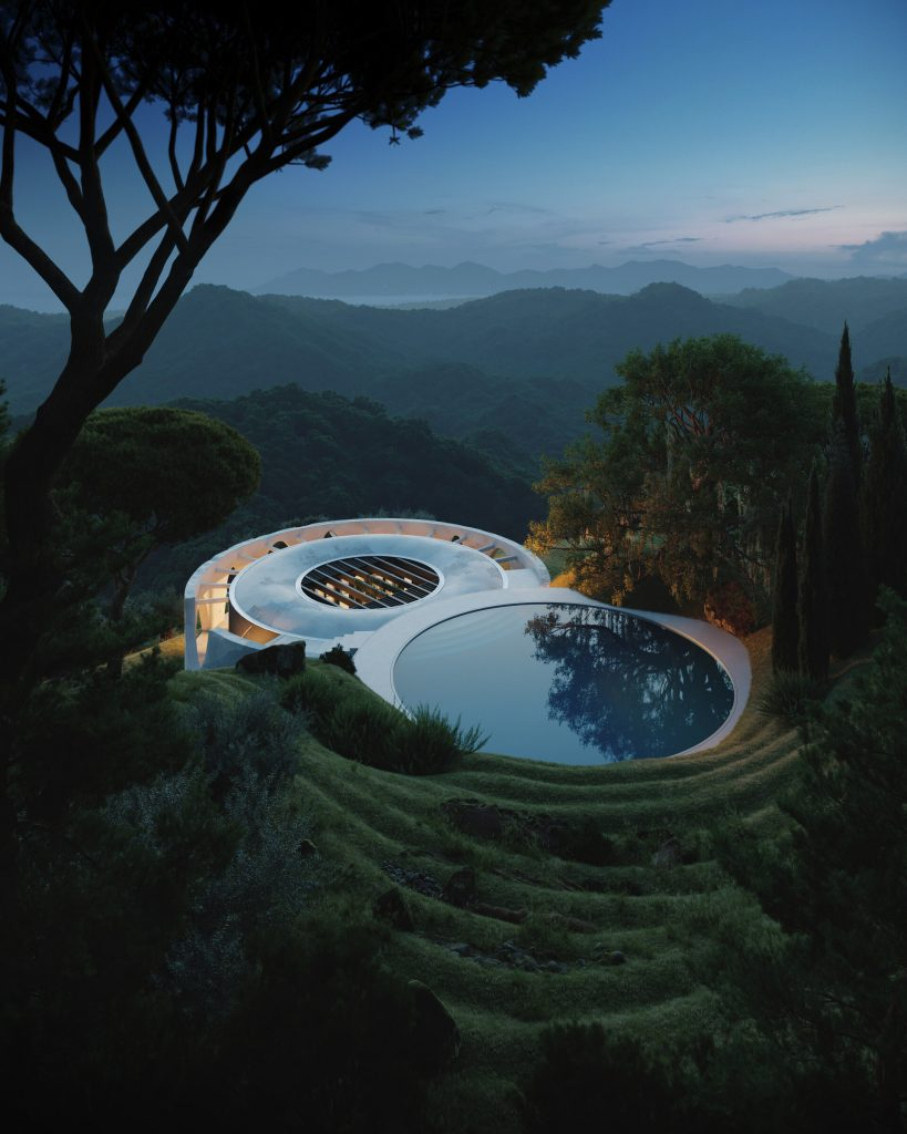 Henge Hill House, from farm warehouse to luxury villa | Collater.al