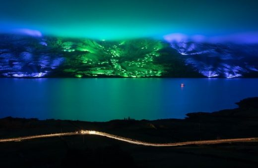 Kari Kola, the Finnish artist who paints with light