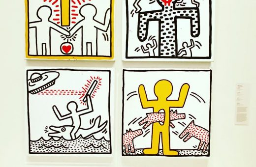 Keith Haring and Jean-Michel Basquiat virtual exhibition