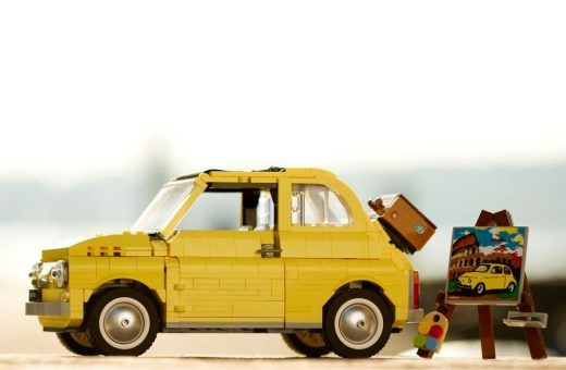 The Fiat 500F in LEGO is now a reality