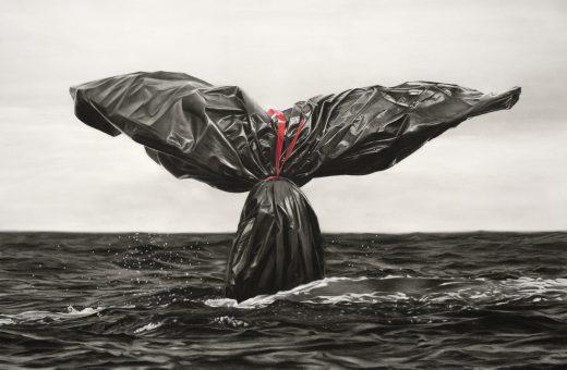 Murmure e i sacchi della spazzatura, simbolo della crisi climatica