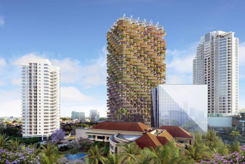 """""""The Rainbow Tree"""", un grattacielo green nelle Filippine"""