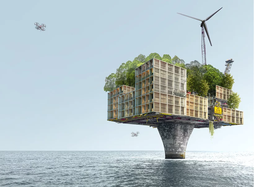 X_lands, when oil platforms become homes | Collater.al