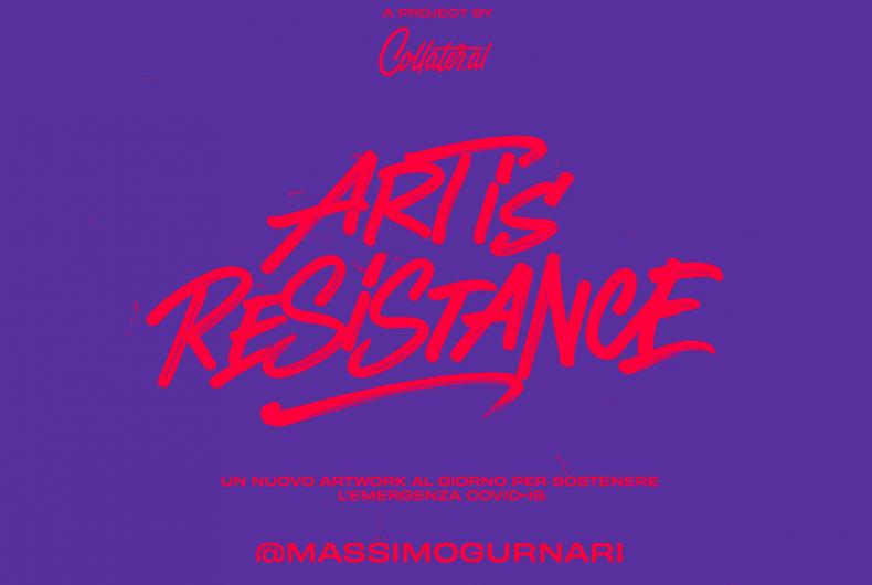 Art is Resistance – Massimo Gurnari