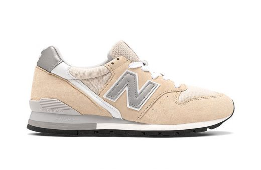 Soft colours: the New Balance 996 Beige