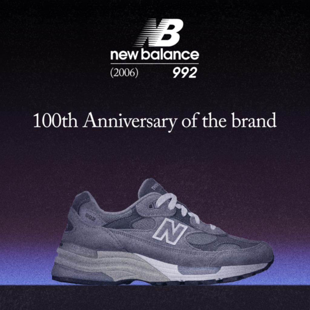 Steve Jobs and New Balance 992