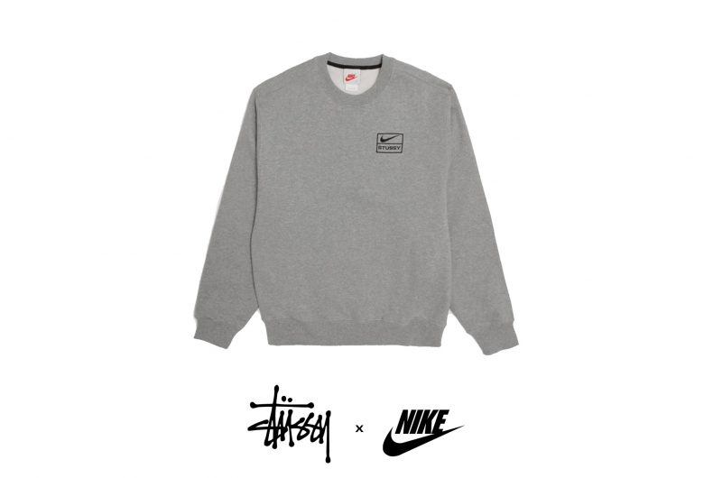 The minimalism of the collaboration between Nike and Stüssy