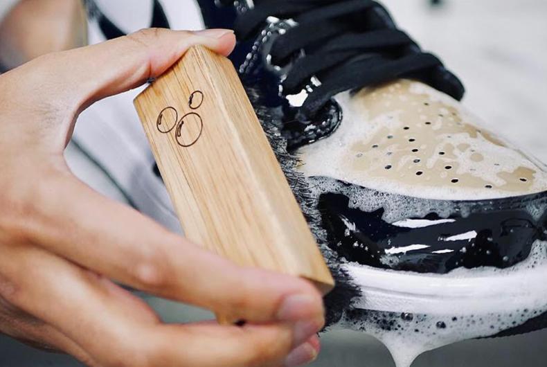 Cosa fare a casa: pulire le nostre sneaker