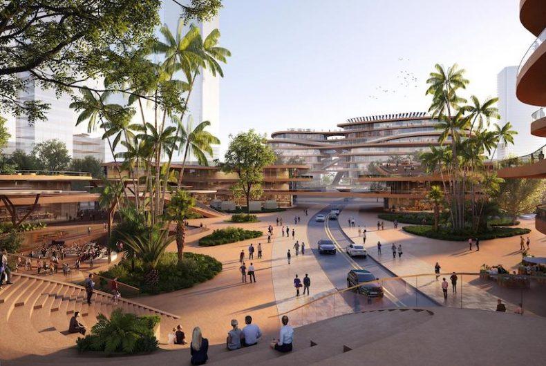 Il progetto futuristico dello studio MVRDV per Shenzhen