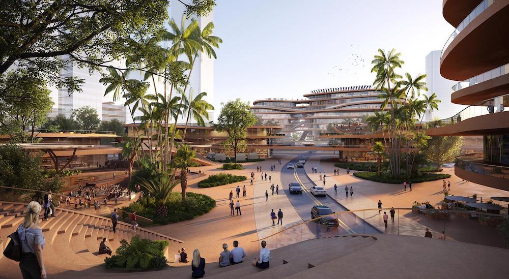 The futuristic project of the MVRDV studio for Shenzhen | Collater.al