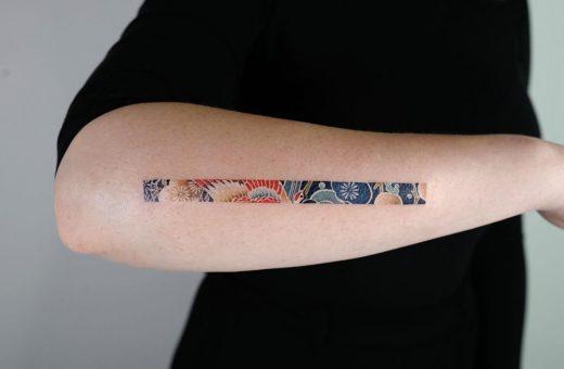 The small rectangular tattoos of EQ