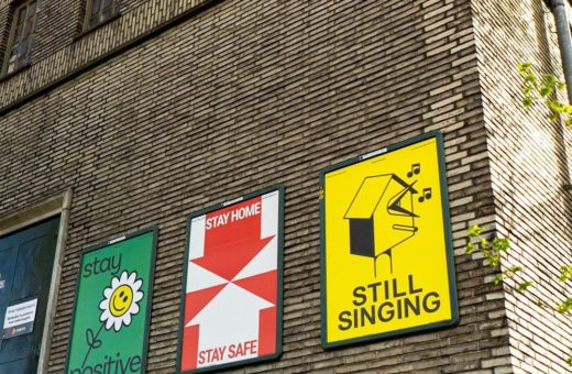 Designer X Breda, poster contro il virus