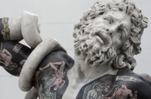 The beautiful tattooed sculptures by Fabio Viale