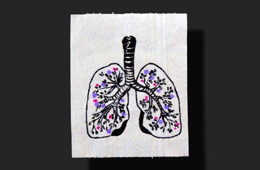 """""""Give a sheet"""", arte su carta igienica contro il covid-19"""
