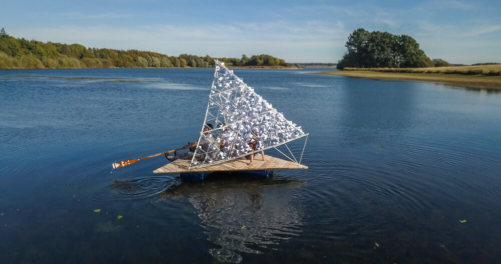 Tetra, a sustainable boat to escape offshore | Collater.al