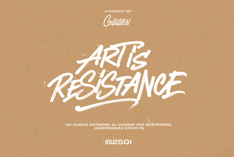 ART IS RESISTANCE - cover