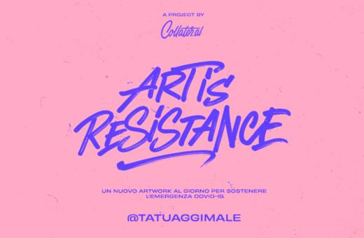 Art is Resistance – Tatuaggi Male