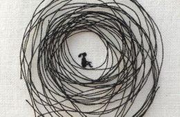 Cristina Chanche ricama pensieri e parole