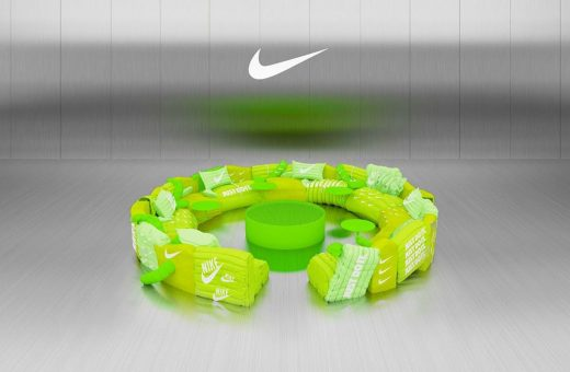 The Nike sofa created by  Crosby studio