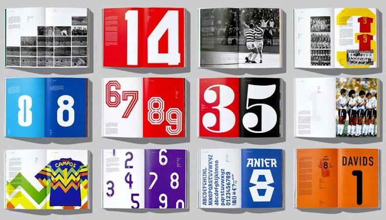 """""""Football type"""" la raccolta dei font delle maglie da calcio"""