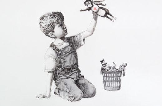 Game Changer, Banksy's artwork for NHS heroes