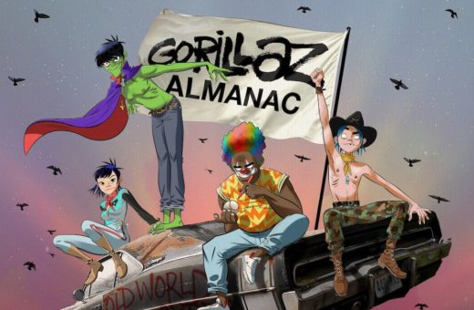 A book to tell the twentieth anniversary of the Gorillaz