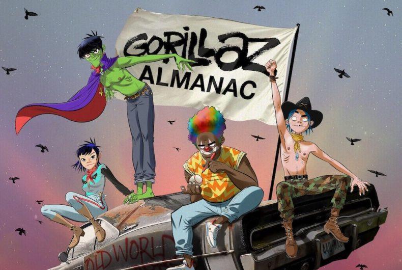Un libro per raccontare i vent'anni dei Gorillaz