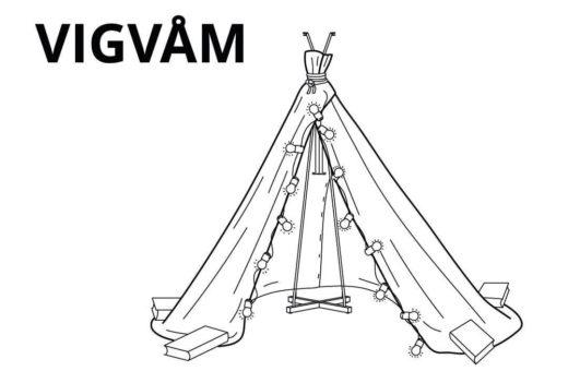 6 modi per costruire un fortino in casa con IKEA