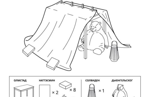 6 ways to build an amazing home fort with IKEA