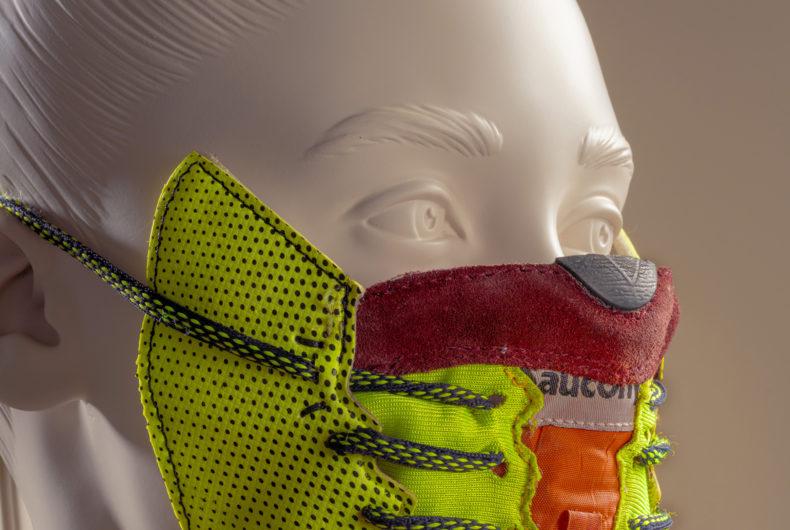 Le Sneaker Mask dello studio WeWantMore
