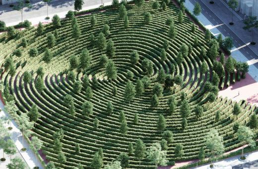 """""""Le parc de la distance"""", Vienna's new park"""